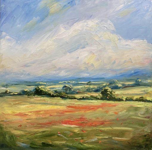 Rupert Aker, Poppies, June 1