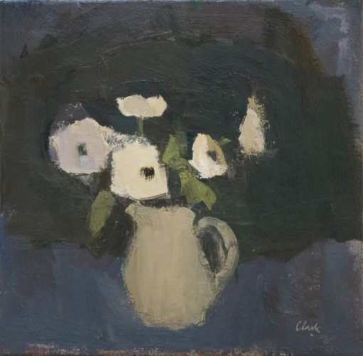 Michael Clark, Jug with White Anemones 1
