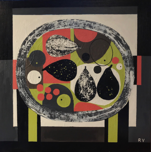Rosemary Vanns, Fruit Plate no.3 1