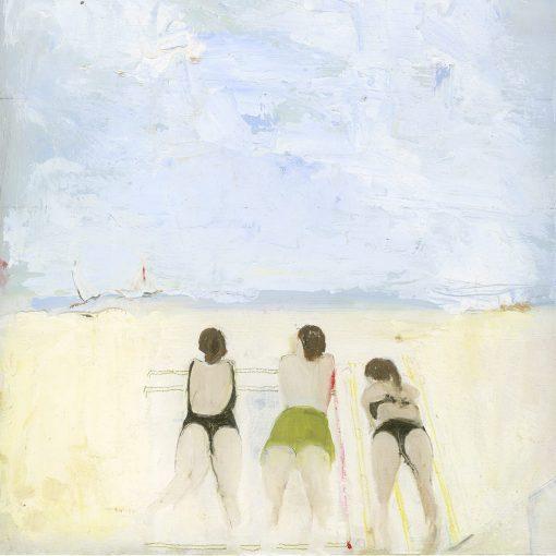 Belinda Sharples, Gozo Bathers 1