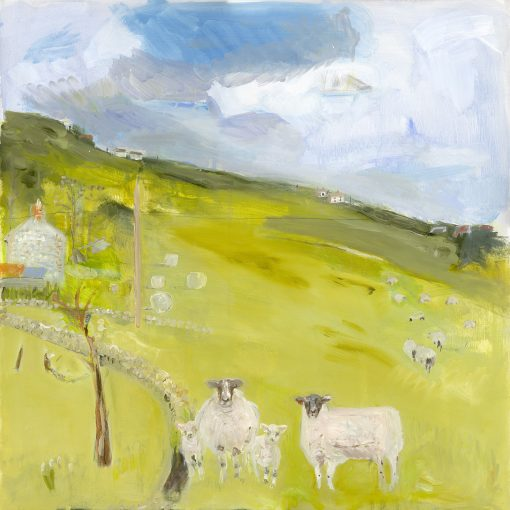 Belynda Sharples, Sheep in the Landscape 3