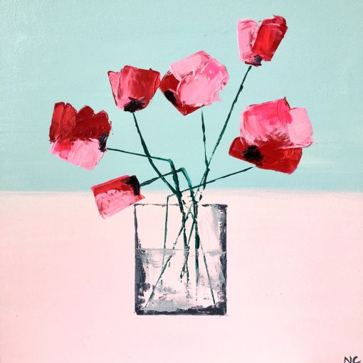 Nancy Chambers, Pink Poppies 1
