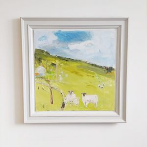 Belynda Sharples, Sheep in the Landscape 4