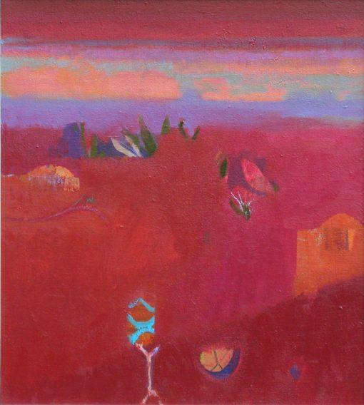Gerry Dudgeon, Rajasthan Skyline 1