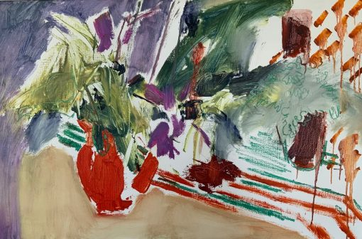 Margaret Devitt, Red Vase 1