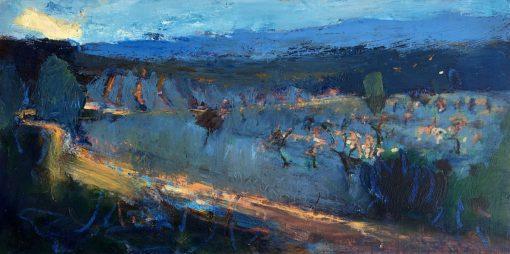 Nicky Basford, Andalusian Landscape, Dusk 1
