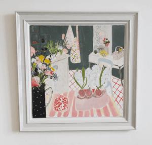 Belynda Sharples, Still Life - Pomegranate & Hyacinths 4