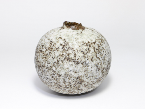 Claire Lardner Burke, Speckled Bronze & Grey Pod with Manganese 014 1