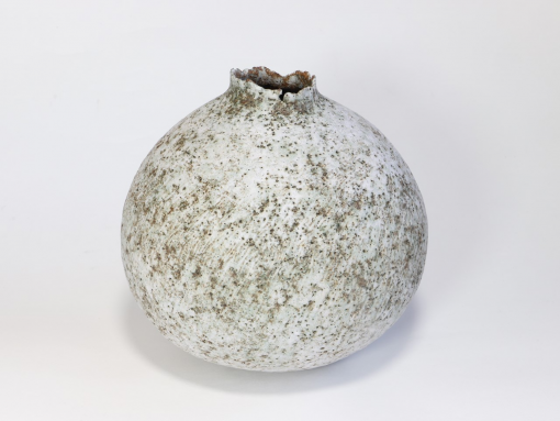 Claire Lardner Burke, Speckled Pod with Chrome 024 1
