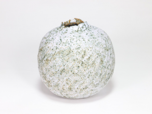 Claire Lardner Burke, Speckled White Pod with Chrome 030 1