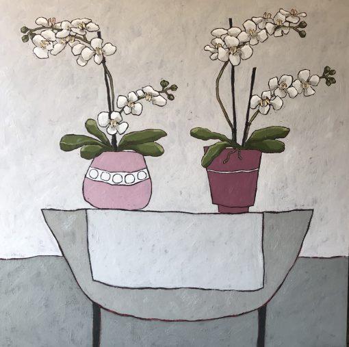 Jane Hooper, Pink Orchid 1