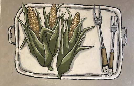 Jane Hooper, Corn on the Cob 1