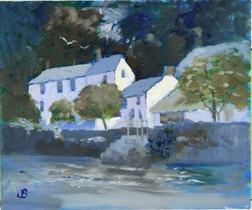 Jenny Sutton, High Water, Helford 1