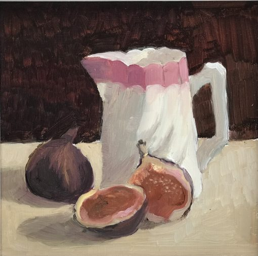 Jenny Sutton, Little Jug with two Figs 1