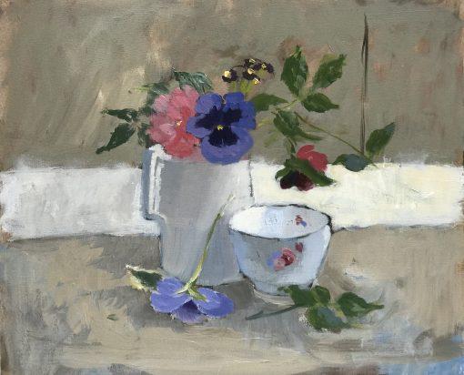 Jenny Sutton, Blue Pansy 1