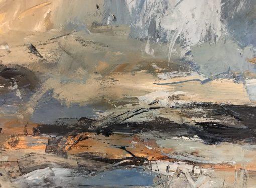 Natalie Bird, Golden Clouds, Grey Sky 1