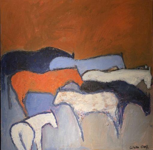 Colette Clegg, Cerulean Horses 1
