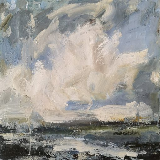 Hannah Ivory Baker, Low Cloud Reflected 3