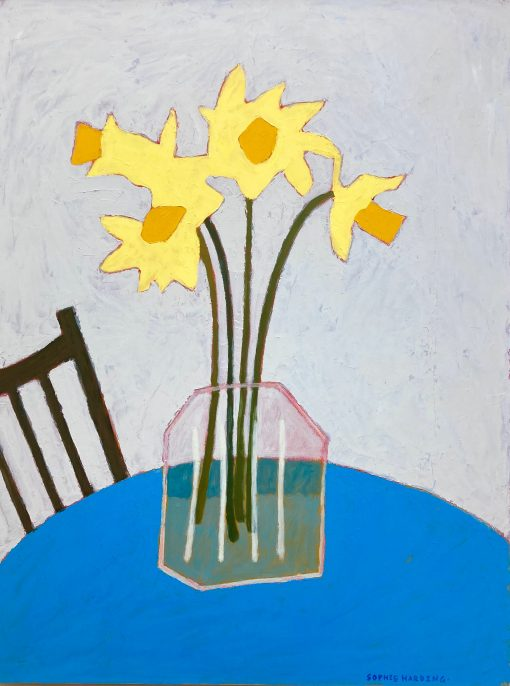 Sophie Harding, Daffodils at the Cafe 1