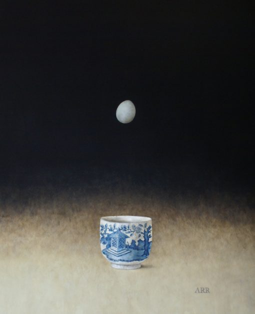 Alison Rankin, Chinese Bowl with Falling Egg 1