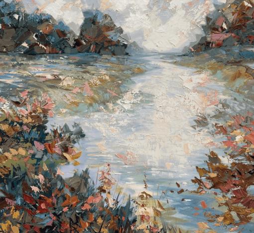 Paul Treasure, River Meon 1