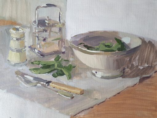 Lotta Teale, Thai Peas with Moroccan Bowl 1
