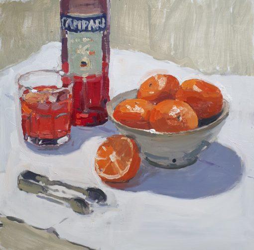 Lotta Teale, Campari & Orange 1