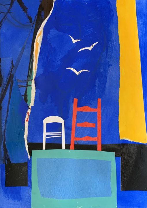 Anthea Stilwell, Red Chair 1