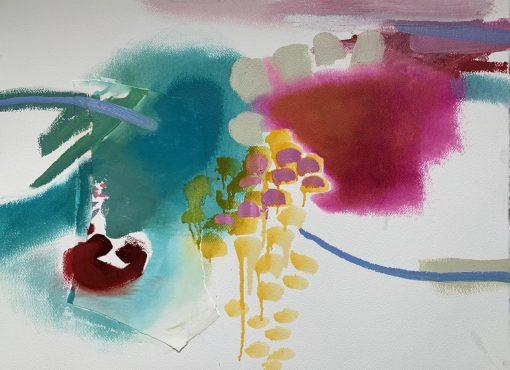 Anthea Stilwell, River Reflections III 1