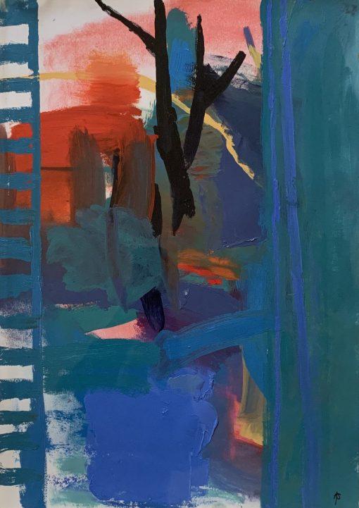 Anthea Stilwell, View Through a Window 1