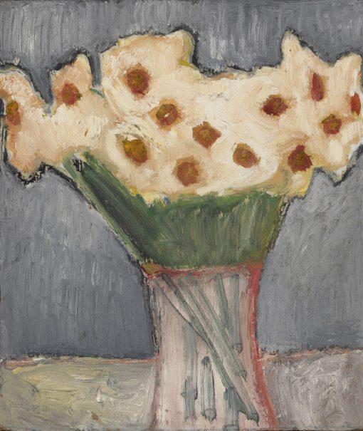 Romi Behrens, Daffodils on Grey 1