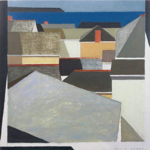 Philip Lyons, Coastal Town Rooftops 1