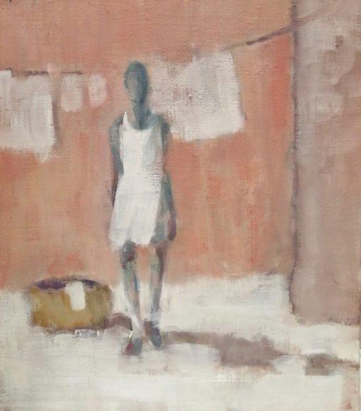 Gail Rhu, Girl in a Hot Place II 1