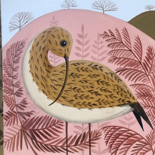 Catriona Hall, Pink Curlew 1