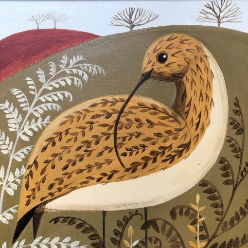 Catriona Hall, Curvy Curlew 1