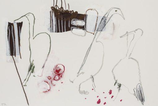 Jane Martin, 3 Herons Fishing - Lossie I 1