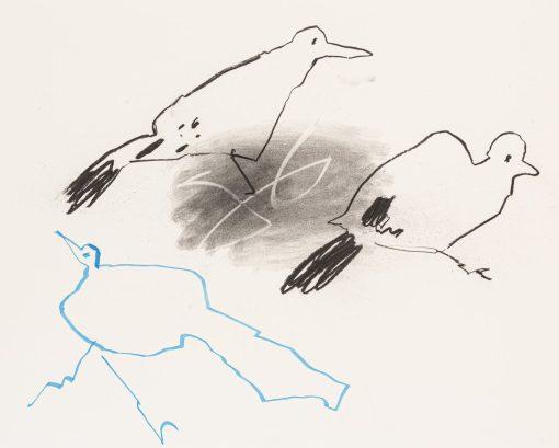 Jane Martin, Two Birds, Blue Bird 1