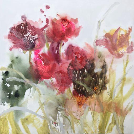 Jo Ellis, 'Tulips III' 1