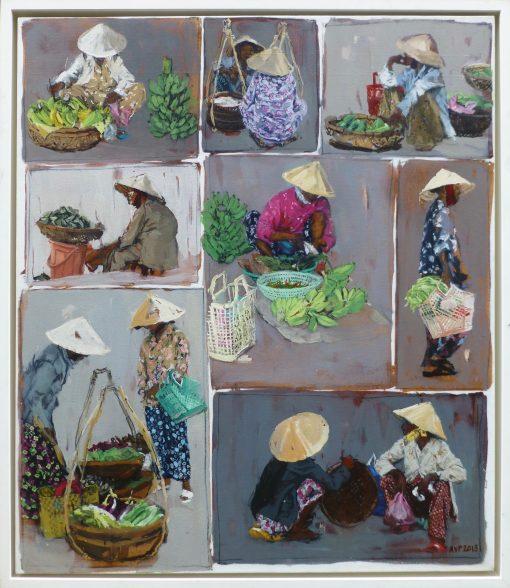 Anna Pinkster, Market Traders, Hoi An, Vietnam 1