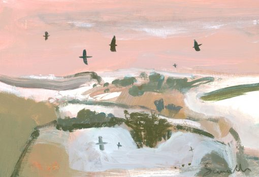 Carol Saunderson, The Silent Snow Lies Over Us 1