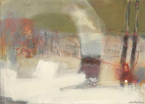 Clare Maria Wood, Winter Woods II 1