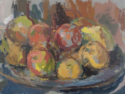 Daniel Shadbolt, Still Life with Fruit 1