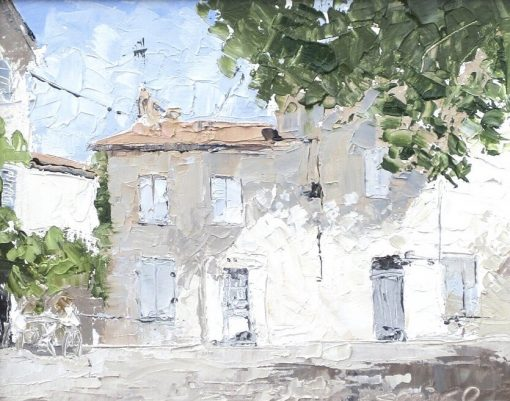 Mike Service, Courtyard, Arles 3