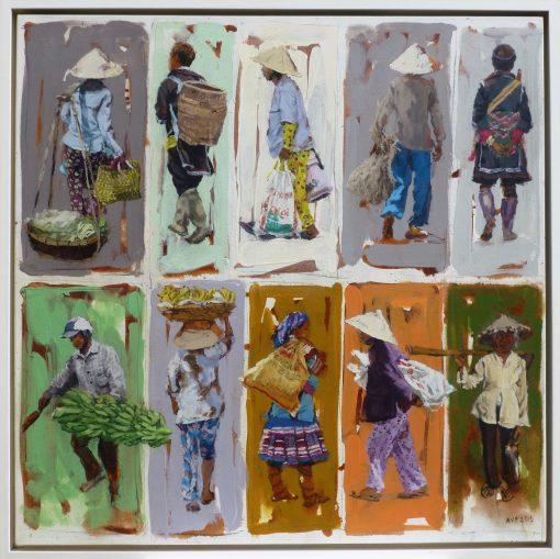 Anna Pinkster, Ten Traders, Vietnam 1
