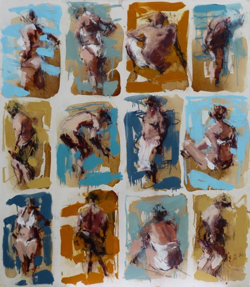 Anna Pinkster, Twelve Bathers III 1