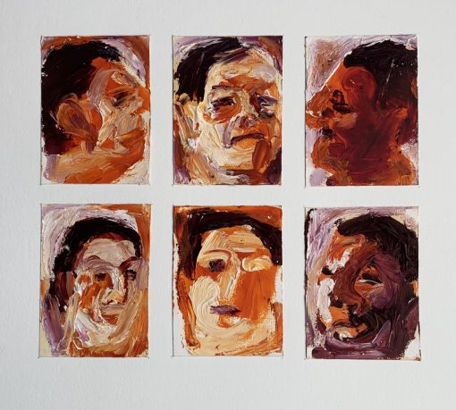 Anthea Stilwell, Study of a Heads 1