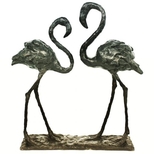 Laura Pentreath, Pair of Flamingos 1