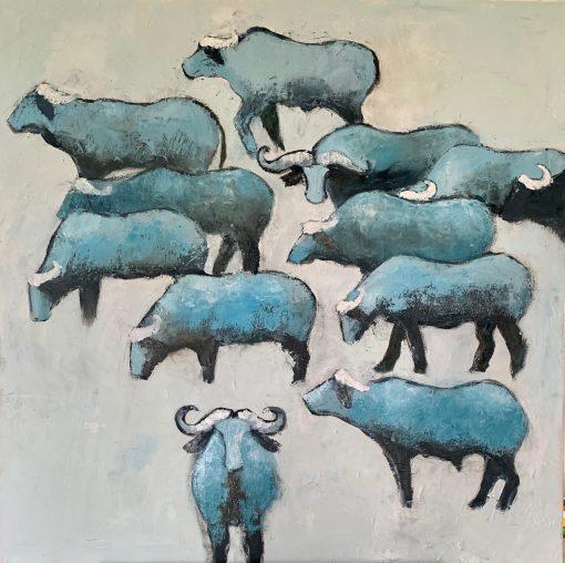 Colette Clegg, Wildebeest 1