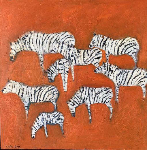 Colette Clegg, Walk of the Zebras 1