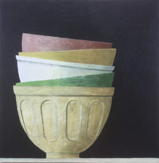 Philip Lyons, A Stack of Bowls 1